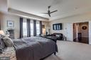 Master Bedroom with Tray Ceiling - 42231 AMBER MEADOWS LN, BRAMBLETON