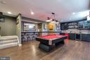 Wet Bar & Billiards Room - 42231 AMBER MEADOWS LN, BRAMBLETON