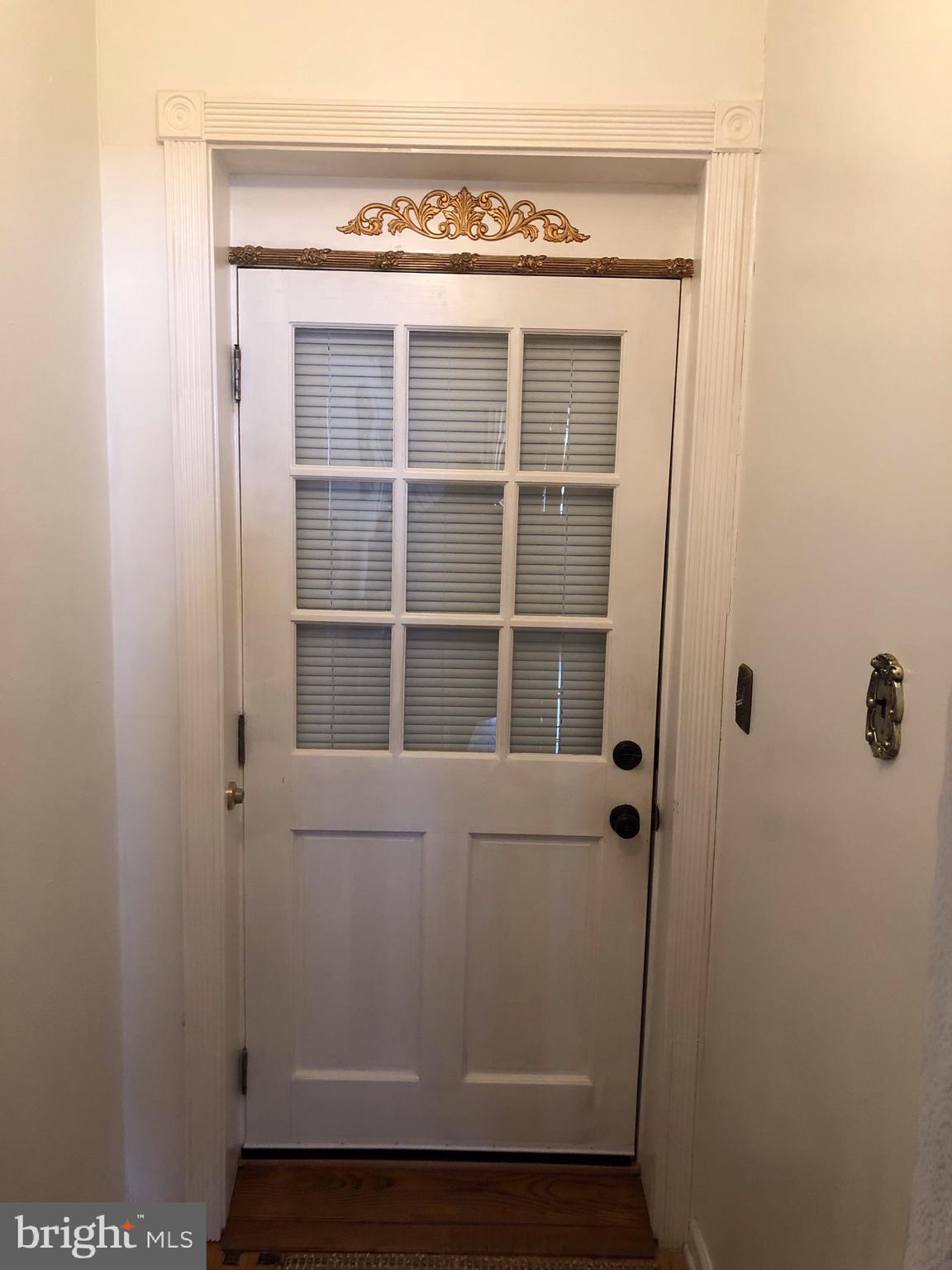 Inside Door to In-Law Suite