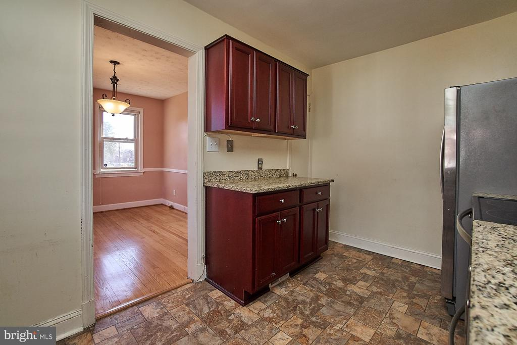 Updated kitchen with pantry - 4106 24TH AVE, TEMPLE HILLS
