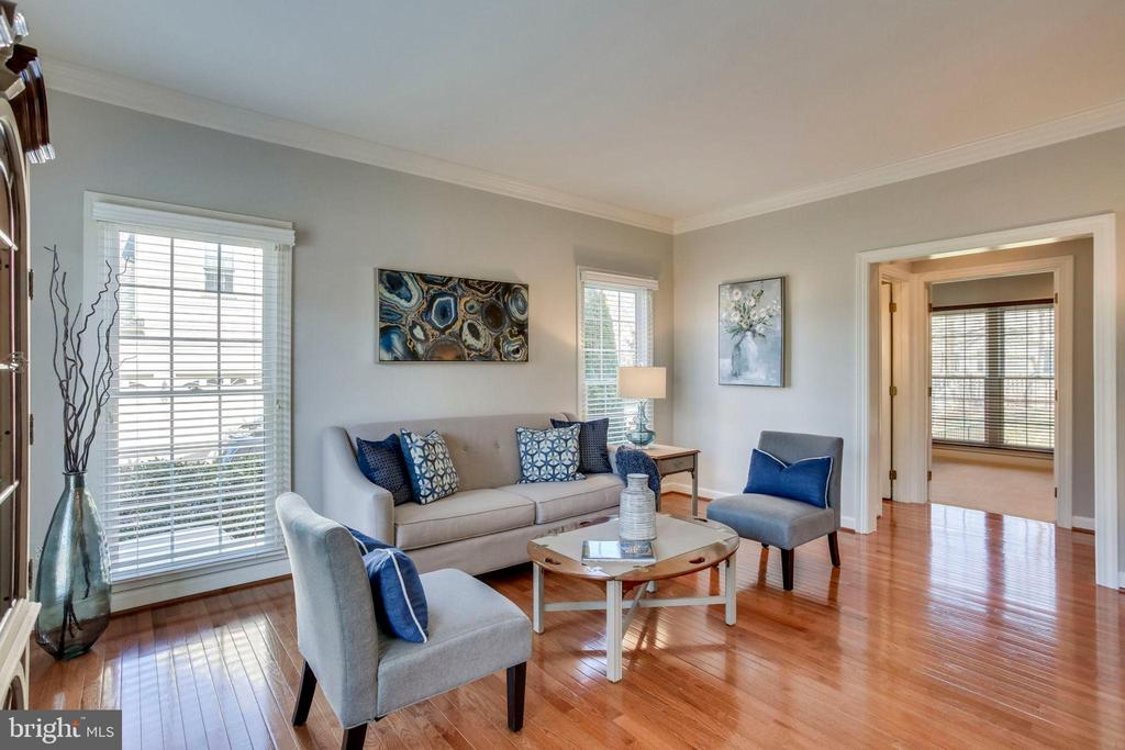 Formal Living Room - 26158 GLASGOW DR, CHANTILLY