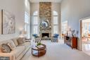Dramatic 2-Story Family Room - 26158 GLASGOW DR, CHANTILLY