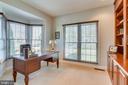 Main Floor Study w/Bay Windo - 26158 GLASGOW DR, CHANTILLY