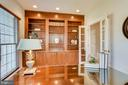 Built-In Bookcase in Study - 26158 GLASGOW DR, CHANTILLY