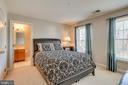 Secondary Bedroom w/Private Bath - 26158 GLASGOW DR, CHANTILLY