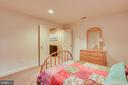 Lower Level Bedroom - 26158 GLASGOW DR, CHANTILLY