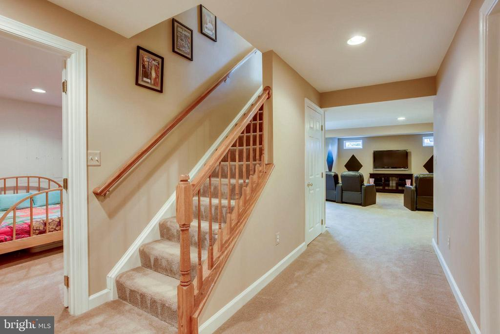 Finished Lower Level - 26158 GLASGOW DR, CHANTILLY