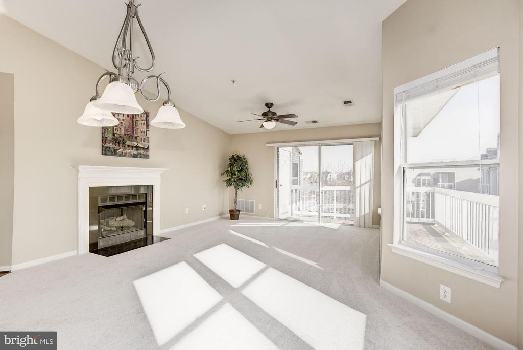 Tall, vaulted ceiling greets you - 44106 NATALIE TER #302, ASHBURN