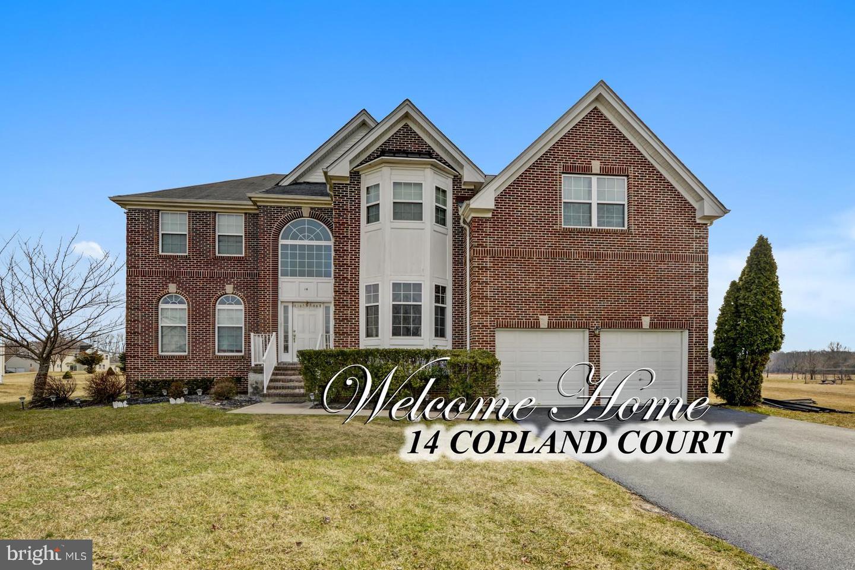Maison unifamiliale pour l Vente à 14 COPLAND Court East Windsor, New Jersey 08520 États-UnisDans/Autour: East Windsor Township