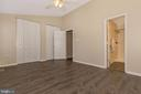Master Bedroom with His and Hers Closets - 18862 MCFARLIN DR, GERMANTOWN