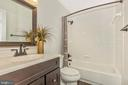 Hall Bathroom - 18862 MCFARLIN DR, GERMANTOWN