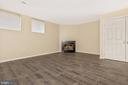 Finished lower level Family Room - 18862 MCFARLIN DR, GERMANTOWN
