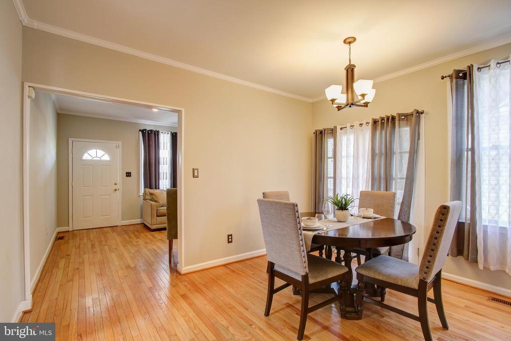 Dining Room - 1305 GIRARD ST NE, WASHINGTON