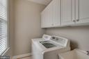Separate laundry room on main level - 42760 RIDGEWAY DR, BROADLANDS