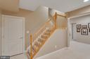 Stair leading to lower level - 42760 RIDGEWAY DR, BROADLANDS