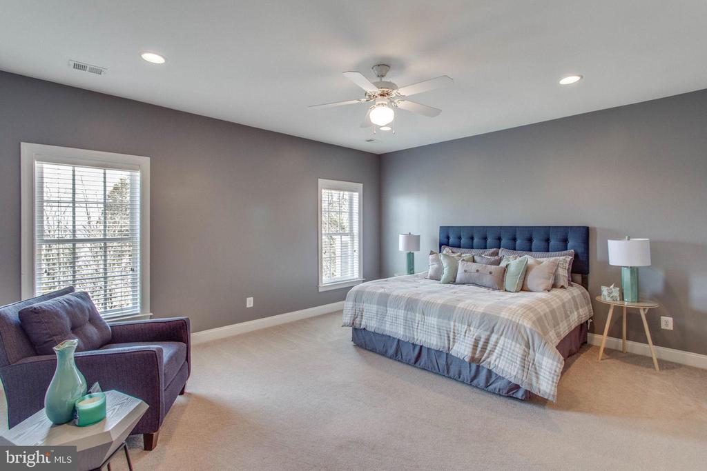 Upstairs Bedroom #2 is the 2nd princess suite - 42760 RIDGEWAY DR, BROADLANDS
