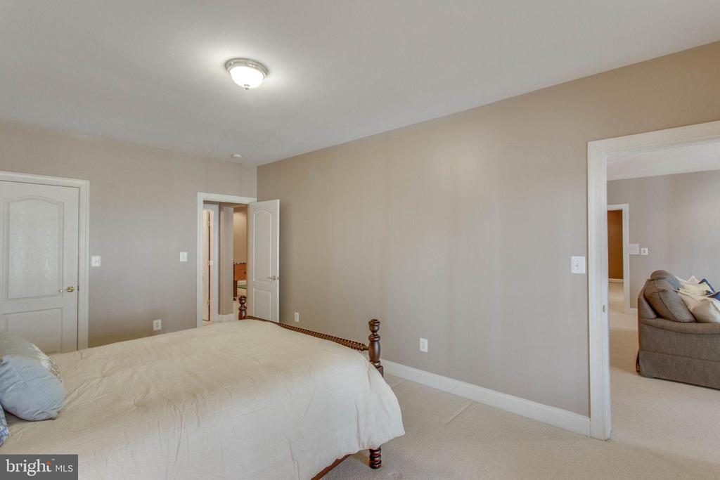 Bedroom #6 located in Lower Level. - 42760 RIDGEWAY DR, BROADLANDS