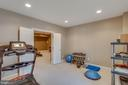 Bonus room used as home gym - 42760 RIDGEWAY DR, BROADLANDS