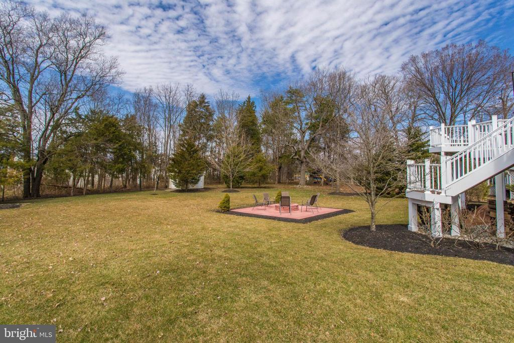 Large yard features a Full yard Irrigation system - 42760 RIDGEWAY DR, BROADLANDS