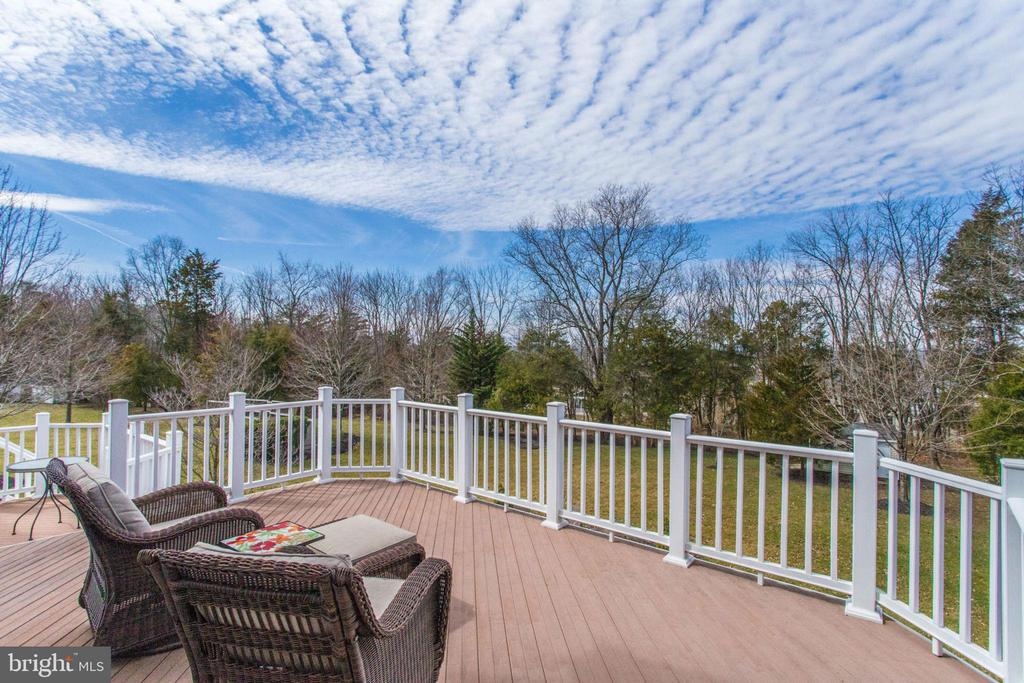Gorgeous Large yard that backs to woods - 42760 RIDGEWAY DR, BROADLANDS