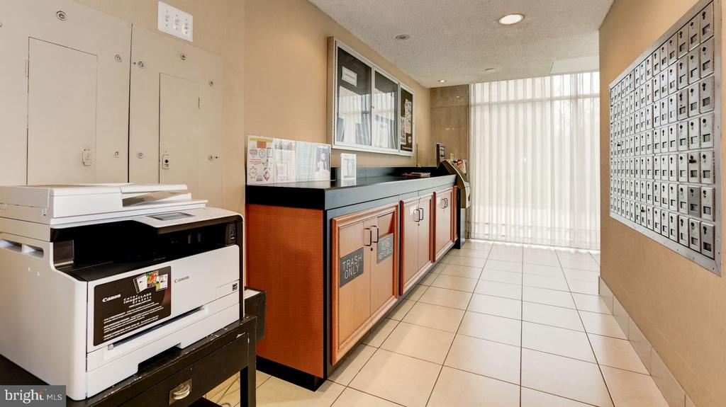 Mail Room with ATM and Fax/Copier - 10201 GROSVENOR PL #818, NORTH BETHESDA