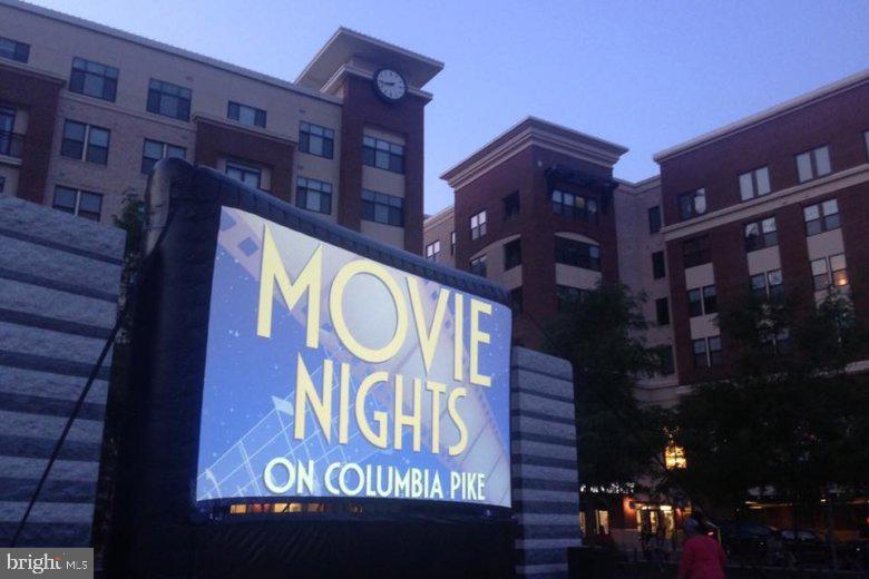 Movie nights at Penrose Square - 3813 9TH RD S, ARLINGTON