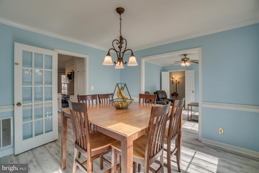 Separate but Open Dining Room - 22 KELLY WAY, STAFFORD
