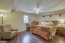Huge Bedroom in the basement with lovely floors - 22 KELLY WAY, STAFFORD