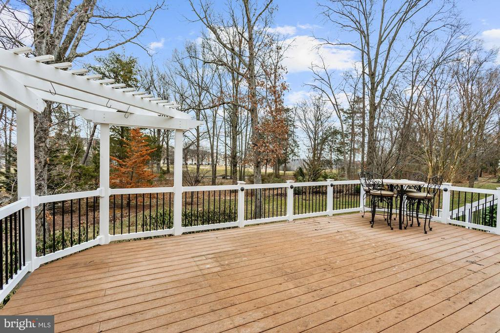 Spacious Back Yard and Deck - 43224 AUGUSTINE PL, ASHBURN
