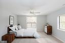 Virtual Staging Bedroom - 5590 VANTAGE POINT RD #6, COLUMBIA