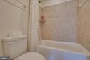 Hallway Bath - 110 COTTAGE OAK DR, STAFFORD
