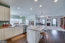 Open Floor Concept Kitchen - 110 COTTAGE OAK DR, STAFFORD