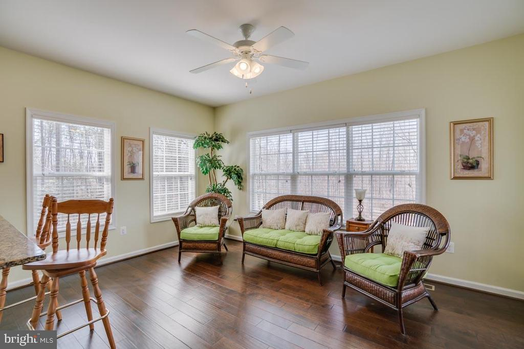 Sunroom Views Looking onto the  Trees - 110 COTTAGE OAK DR, STAFFORD