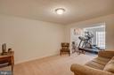 Basement Rec Room - 110 COTTAGE OAK DR, STAFFORD
