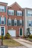 Brick Front with a 1-car garage attached - 6393 HAWK VIEW LN, ALEXANDRIA