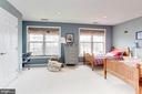 Second very large master bedroom - 6393 HAWK VIEW LN, ALEXANDRIA