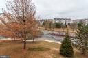 From the deck-open tree line views - 6393 HAWK VIEW LN, ALEXANDRIA