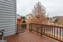 Upgraded deck with new composite flooring - 6393 HAWK VIEW LN, ALEXANDRIA