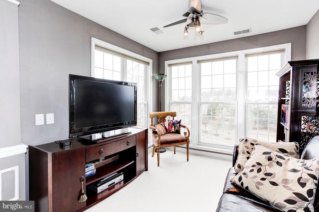 Sitting Room - Floor to Ceiling Windows Walls - 6393 HAWK VIEW LN, ALEXANDRIA
