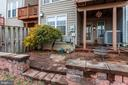 Patio paved throughout - 6393 HAWK VIEW LN, ALEXANDRIA