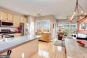 Look at the views from this kitchen! - 6393 HAWK VIEW LN, ALEXANDRIA