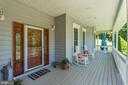 Expansive wrap around front porch - 6910 SCENIC POINTE PL, MANASSAS