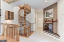 Master suite with fireplace - 6910 SCENIC POINTE PL, MANASSAS