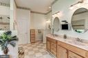Huge master bath - 6910 SCENIC POINTE PL, MANASSAS
