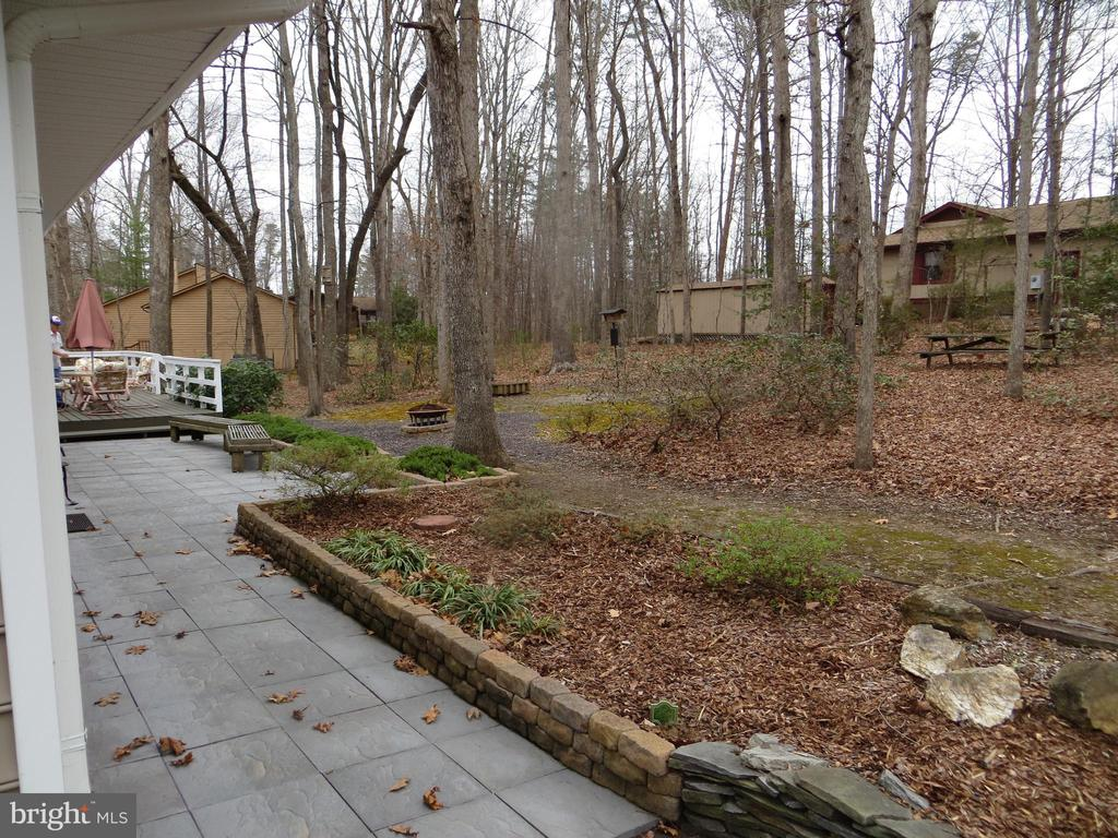 ShedFront Walkway  with view of Corner - 200 HAPPY CREEK RD, LOCUST GROVE