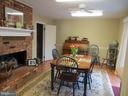 Eat-In-Country Kitchen; Two Sided Fireplace - 200 HAPPY CREEK RD, LOCUST GROVE