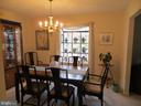 Separate Dining Room with Garden Window - 200 HAPPY CREEK RD, LOCUST GROVE
