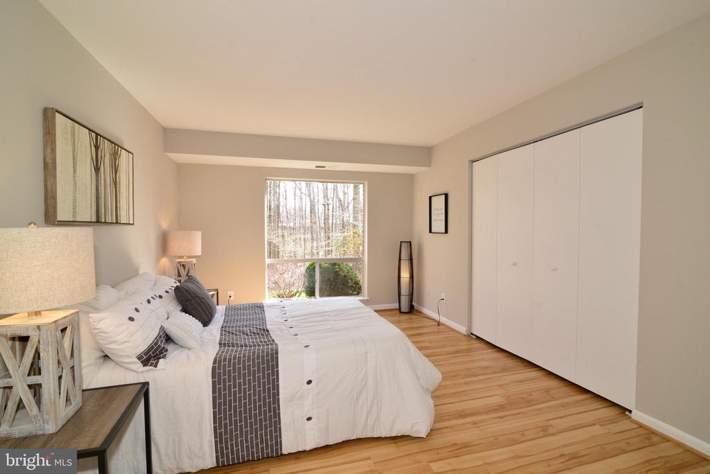Master Bedroom: Closet with Custom Built-Ins. - 11623 VANTAGE HILL RD #1A, RESTON