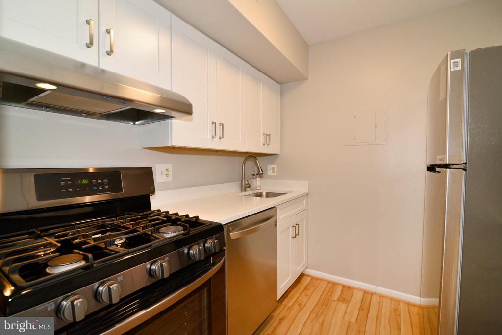 Remodeled Kitchen: New SS Appliances. - 11623 VANTAGE HILL RD #1A, RESTON