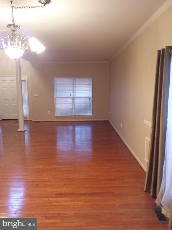 Beautiful Dining Room/Living Room Combo View - 36 FLETCHER DR, FREDERICKSBURG
